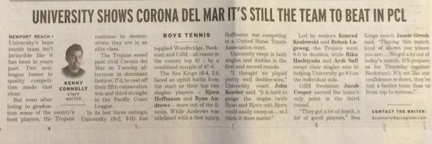 tennis v cdm