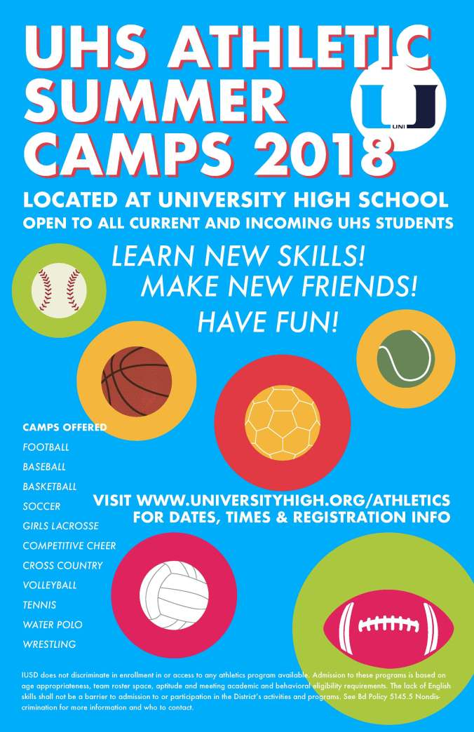 Final Sports Camp Poster