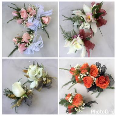 girls vb fundraiser flowers