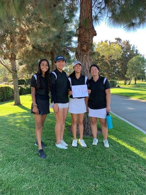 Girls Golf 10.23